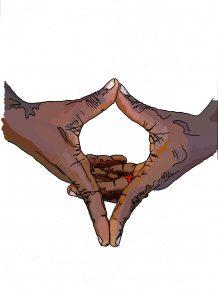 Hand Sign: Star Of David (Akinsanya)