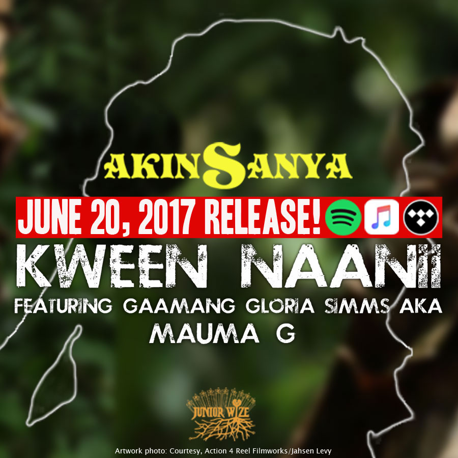 AKINSANYA - KWEEN NAANII (feat. MAUMA G) 本日リリース!