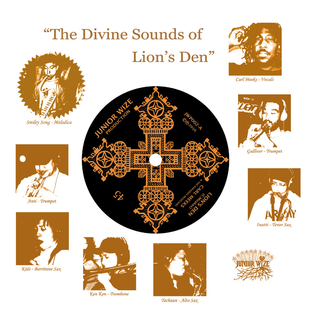Various - The Divine Sounds of Lion's Den