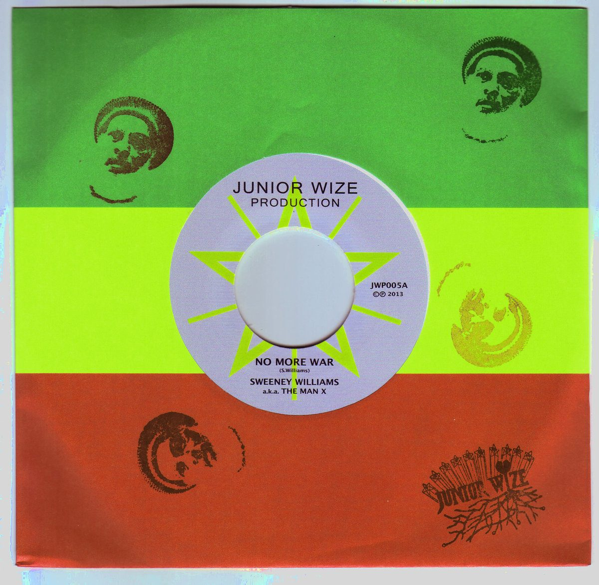 "Sweeney Williams - No More War (7"") リリース"