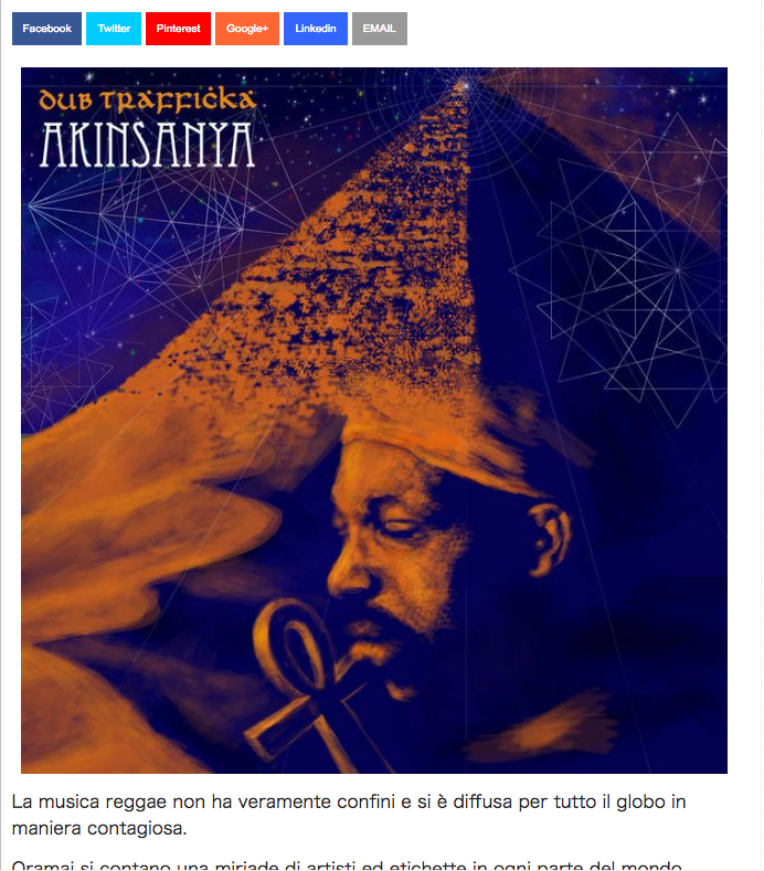 """Hot MC"" reviewed for ""Akinsanya - Dub Trafficka"" EP."