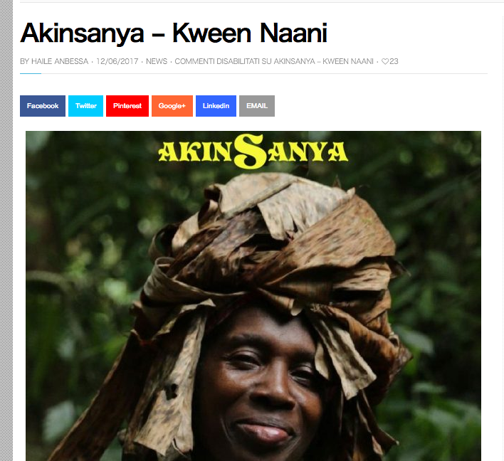 """Hot MC"" reviewed for ""Akinsanya - Kween Naanii (feat. Mauma G)""."
