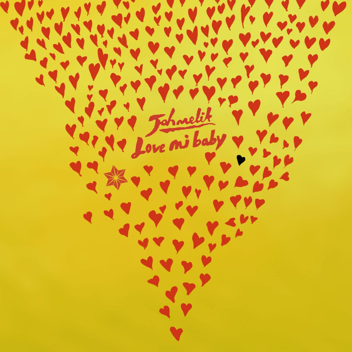 "Jahmelik ""Love Mi Baby"" - Artwork"